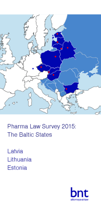 Pharma Law Survey 2015: The Baltic States