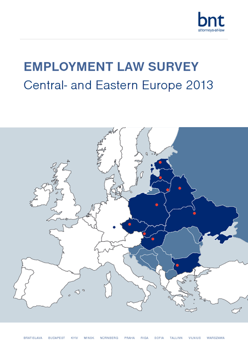 Employment Law Survey CEE 2013