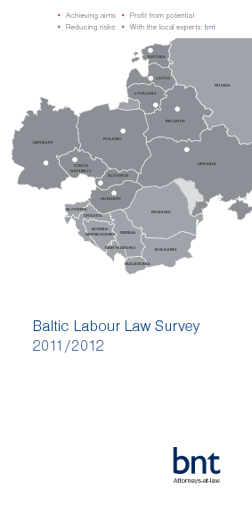 bnt Baltic Labour Law Survey 2011-2012