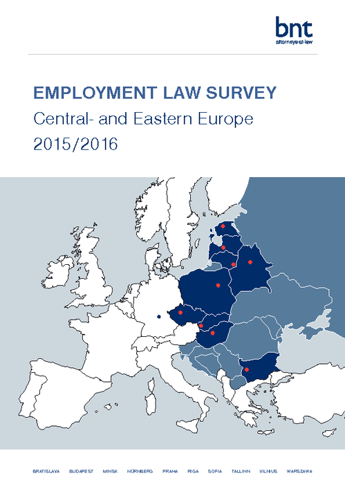 EMPLOYMENT LAW SURVEY Central- and Eastern Europe 2015/2016