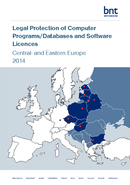 Legal Protection of Computer Programs/ Databases and Software Licences Survey 2014