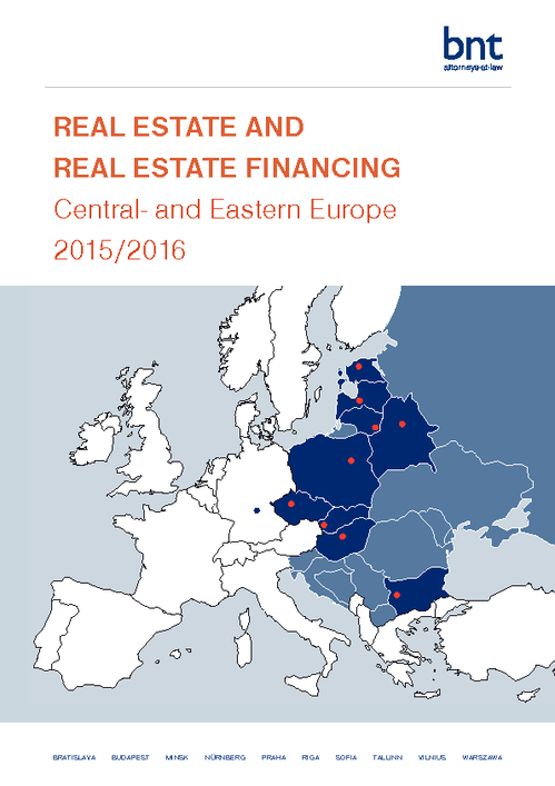Real Estate and Real Estate Financing Central and Eastern Europe 2015/2016
