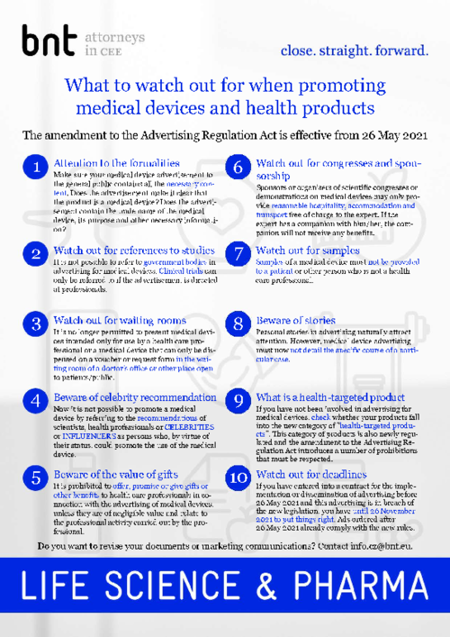 Regulation of advertising for health-targeted products